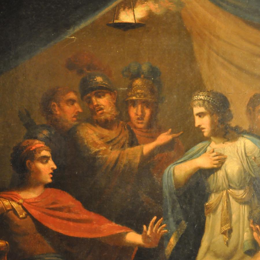 Antik målning, Gustaf Erik Hasselgren, 1804.