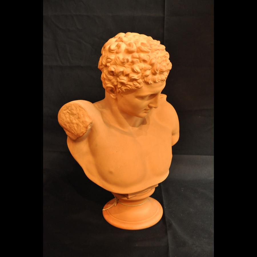 Byst föreställande Hermes, av Peter Ipsen. 1800-talets slut.