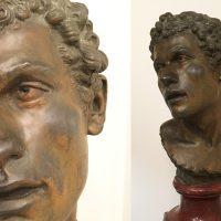 Nyinkommen skulptur av Louis Moreau, 1800-tal.
