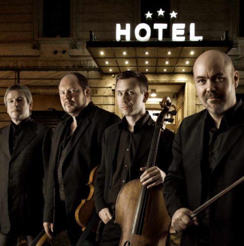 Stenhammar Quartet. Foto: Pelle Piano.