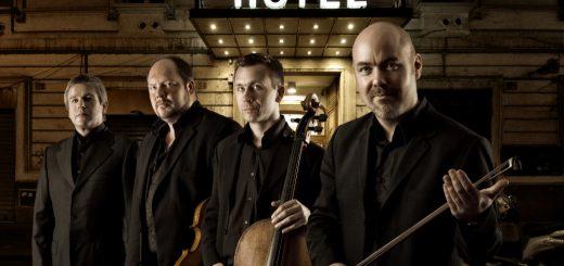 Stenhammar Quartet, hos Bernhard & Weiss 2019. Foto: Bo Söderström