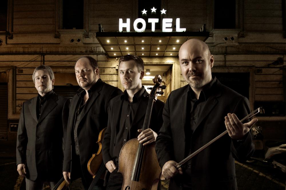 Stenhammar Quartet, hos Bernhard & Weiss 2019.