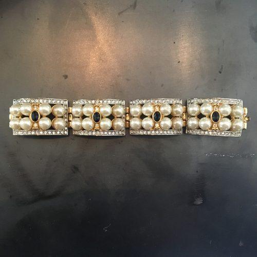 Dekorativt armband från 1980-talet