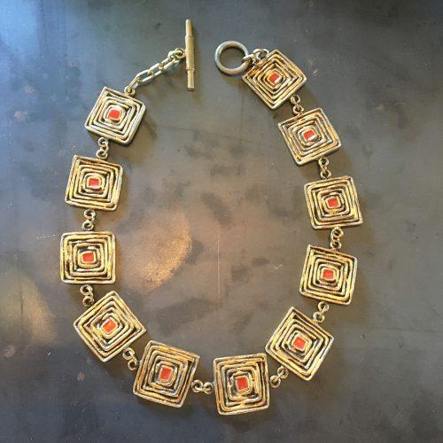 Halsband, Biche de Bere, vintage.