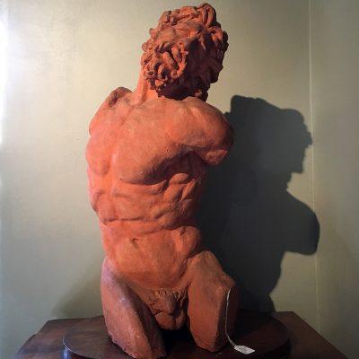 Laokoon, torso, terracotta