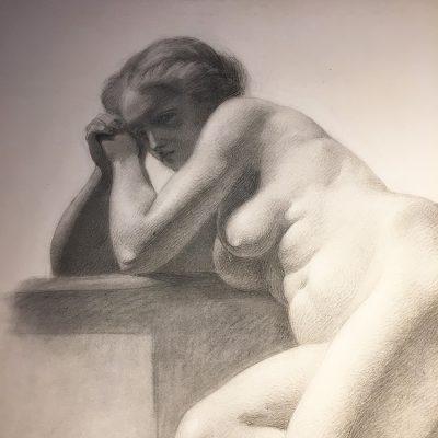 Nakenstudie, 1864, Johan Christian Jansson