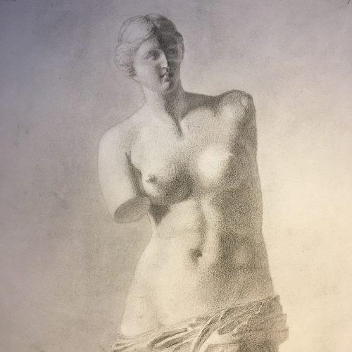 Teckning, 1800-tal, Jansson
