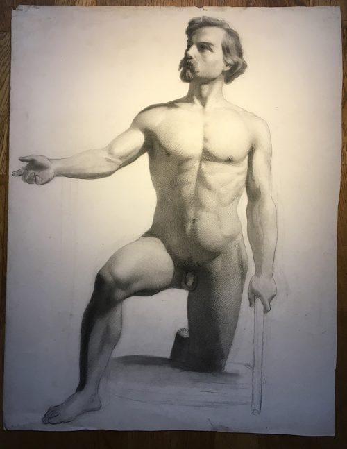 Teckning, 1800-tal, Johan Christian Jansson