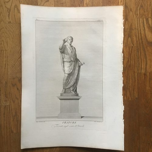 Kopparstick, 1700-tal, Oritore,