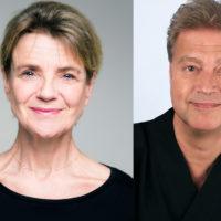 Stina Ekblad & Matti Hirvonen. Foto: Knut Koivisto / E. Joenniemi