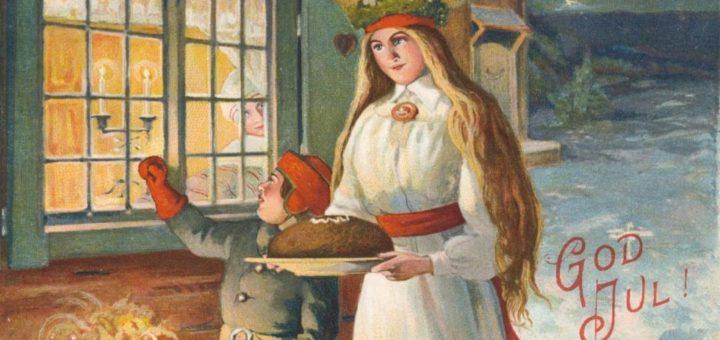 Adventsöppet i vår antikaffär på Österlen